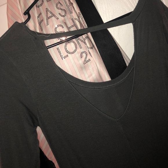 Forever 21 Dresses & Skirts - Long gray dress